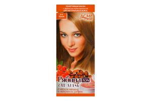 Маска тонирующая для волос Рябина Ton Русый №014 Acme Color 1шт