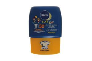 Лосьон солнцезащитный водостойкий SPF 50 Kids Sun Nivea 50мл