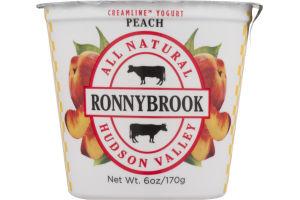 Ronnybrook All Natural Creamline Yogurt Peach