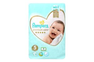 PAMPERS Дитячі підгузники Premium Care Junior (11-16 кг) Упаковка 17