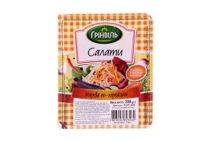 Салат Морковь по-корейски Грінвіль п/у 350г