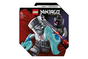 Конструктор для детей от 6лет №71731 Zane vs Nindroid Epic Battle Set Ninjago Lego 1шт