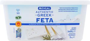 Сир 45% м'який з овечого та козиного молока Feta Mevgal п/у 2 кг