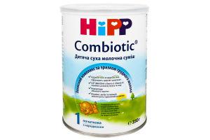 Суміш суха молочна для дітей з народження Combiotic Hipp з/б 350г