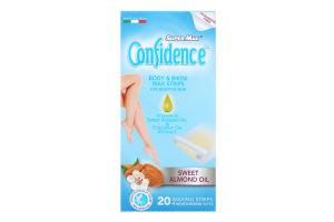 Полоски для депиляции восковые для чувствительной кожи Confidence Super-Max 20шт
