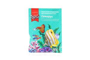 Корм Гамарус для рыб сухой мягкая упаковка Topsi 10г