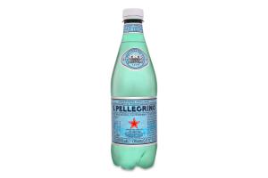 Вода мінеральна газована S.Pellegrino п/пл 0.5л