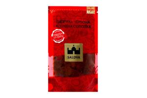 Паприка червона копчена солодка 25гр Saldva