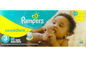 Pampers Swaddlers Diapers Size 3 - 88 CT