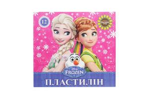 Пластилин FrozenМицар Ц558011У 12цв 210г