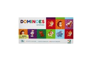 Гра для дітей від 3років №300248 Тваринки Доміно Dodo 29шт