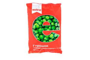 Горошек зеленый Extra! быстрозамороженный