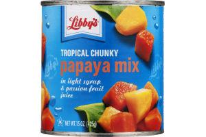 Libby's Tropical Chunky Papaya Mix