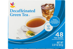 Ahold Decaffeinated Green Tea Bags - 48 CT