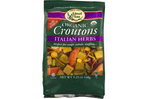 Edward & Sons Organic Croutons Italian Herbs