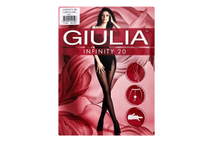 Колготки жіночі Giulia Infinity 20den 4-L cappuccino