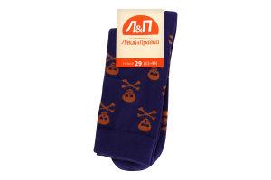 Шкарпетки чоловічі Лівий&Правий Море 29 фіолет
