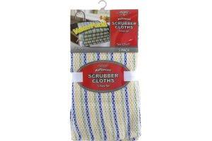 Royal Crest Waffleweave Scrubber Cloths - 5 PK