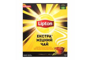 Lipton Чай 100 пакет Екстра Міцний