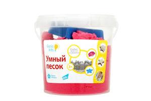 Набір для дитячої творчості «Розумний пісок 1 Рожевий».