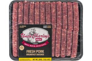 Uncle Charley's Sausage Co. Premium Fresh Pork Breakfast Sausage