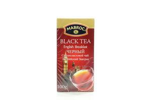 Чай чорн.Анг.Сніданок Маброк 100г