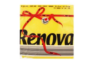 Renova Red Label серветки столові 32*30см 70шт жовті