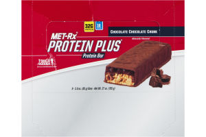 MET-Rx Protein Plus Protein Bar Chocolate Chocolate Chunk - 9 CT