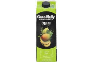 GoodBelly Probiotics Juice Drink Tropical Green