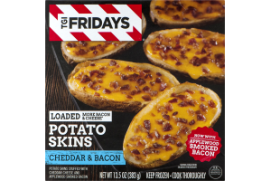 TGI Fridays Loaded Potato Skins Cheddar & Bacon