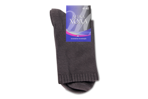 Шкарпетки Легка Хода чоловічі 6338 27 темно-сірий