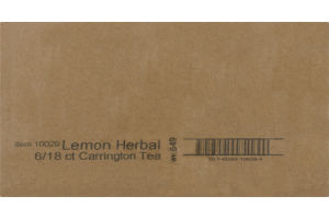 Carrington Tea Lemon Herbal - 6/20CT