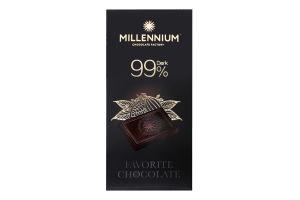Шоколад 99% чорний Favorite Millennium к/у 100г