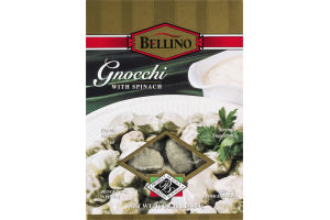 Bellino Gnocchi With Spinach