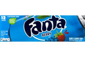 Fanta Berry - 12 PK