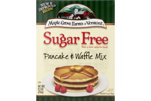 Maple Grove Farms of Vermont Sugar Free Pancake & Waffle Mix