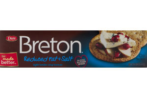 Breton Reduced Fat & Salt Crackers
