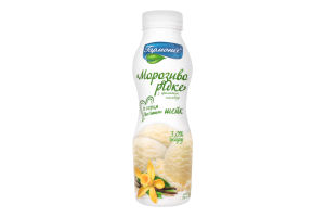 Коктейль молочный 3% с ароматом пломбира Мороженое жидкое Гармонія п/бут 300г
