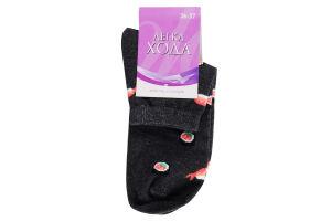 Шкарпетки Легка Хода жіночі 5362 р.23 т.-сірий/меланж