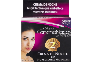 ConchaNacar de Perlop 2 Night Cream