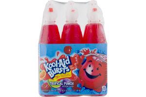 Kool-Aid Bursts Soft Drink Tropical Punch - 6 PK