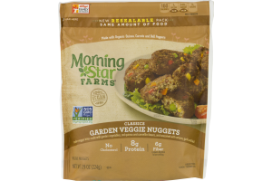 Morning Star Farms Classics Garden Veggie Nuggets