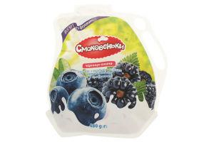 Йогурт Смаковеньки черника-ежевика 1,5%