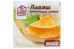 """Лаваш """"Fine Food"""" Вірменський тонкий 330г."""