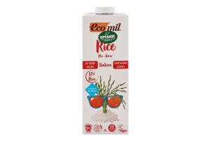 Молоко рослинне органічне з рису Ecomil т/п 1л