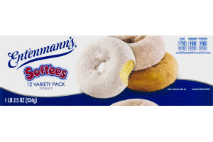 Entenmann's Soft'ees Donuts Variety Pack - 12 CT