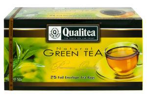 Чай зеленый Qualitea к/у 25х2г