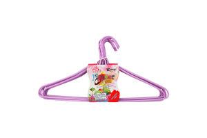 Набор вешалок для одежды 10шт Fozzy1_000013_130