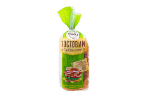Тостовий пшеничный хліб РЗ 0,350 г