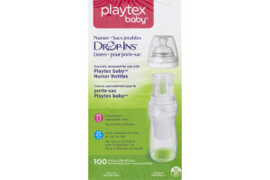Playtex Baby Nurser Drop-Ins Liners - 100 CT
